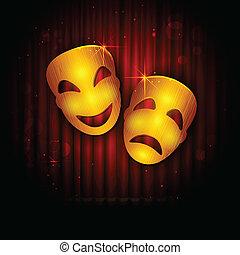 unterhaltung, theater