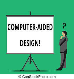 unterstützt, begriff, text, schreibende, bedeutung, edv, entwerfen, industrie, gebrauchend, handschrift, design., elektronisch, devices., schuft