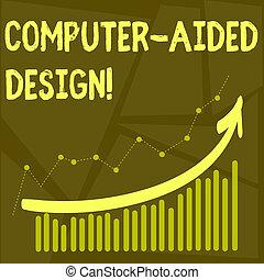 unterstützt, industrie, geschaeftswelt, foto, ausstellung, schreibende, edv, text, design., entwerfen, begrifflich, gebrauchend, hand, elektronisch, devices., schuft