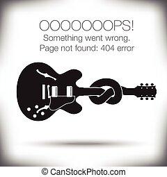 Unusual - 404 error page
