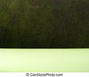 unusual grunge background in 2 tints of green