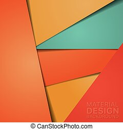 Unusual Modern Material Design Background