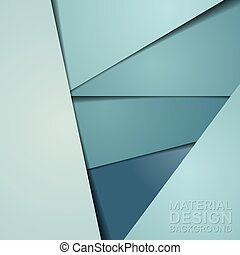 Unusual Modern Material Design Background