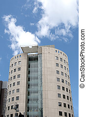 Round Office Block - Unusual Round Office Block with...