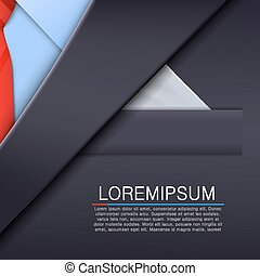 Unusual tuxedo background. Design template. Vector ...