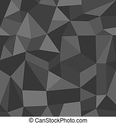 Unusual vintage abstract geometric pattern. - Trendy grey...