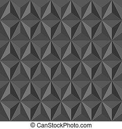 Unusual vintage abstract geometric pattern. - Trendy grey ...
