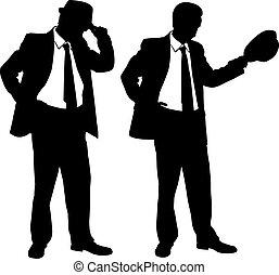 uomini affari