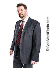 uomo, affari