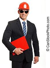 uomo affari, documento