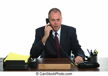 uomo affari, telefonata