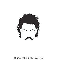 uomo, barba