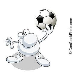 uomo, football tiene