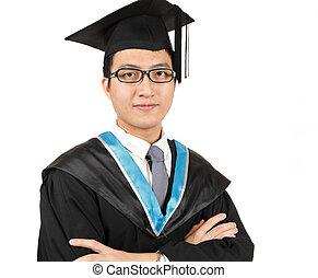 uomo, graduazione