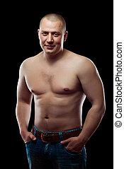 uomo muscolo