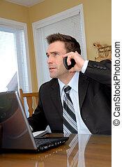 uomo, telefono