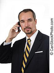 uomo telefono cellulare