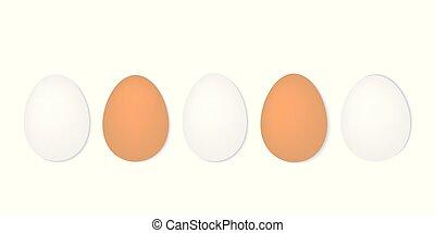 uova, fila