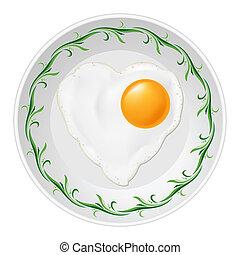 uova, fritto