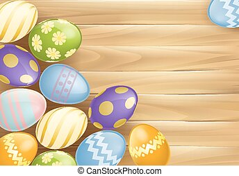 uova, pasqua, fondo