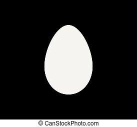 uovo, icona
