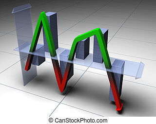 up and down chart that finally down - It's an up and down...