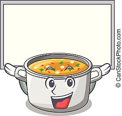 Vegetable Soup Clip Art - Royalty Free - GoGraph  Cartoon Veggie Pasta