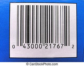 UPC label 1