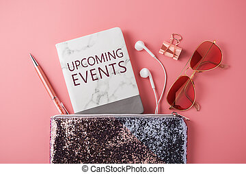 Upcoming events with fashion accessories