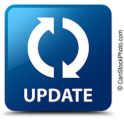 Update blue square button