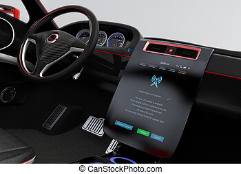 Update car software concept