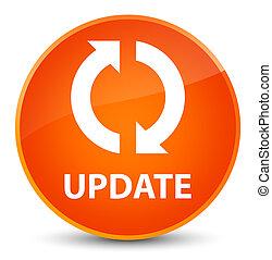 Update elegant orange round button