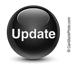 Update glassy black round button
