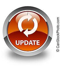 Update glossy brown round button