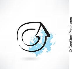 update grunge icon