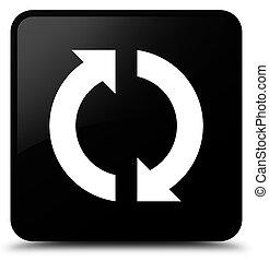 Update icon black square button
