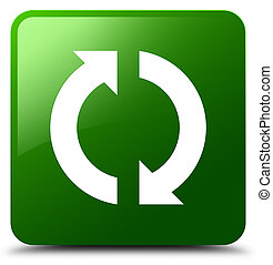 Update icon green square button