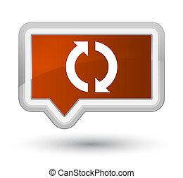 Update icon prime brown banner button