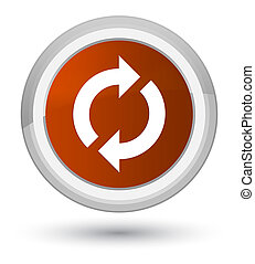 Update icon prime brown round button