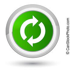 Update icon prime green round button