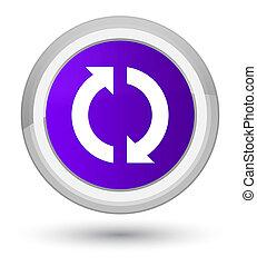 Update icon prime purple round button