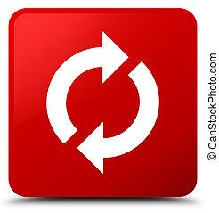 Update icon red square button