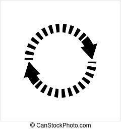Update Icon, Refresh, Repeat Icon Vector Art Illustration