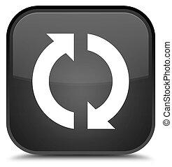 Update icon special black square button