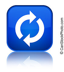 Update icon special blue square button