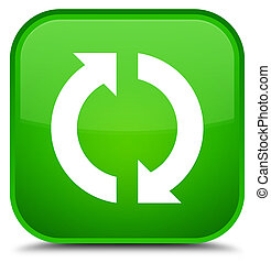 Update icon special green square button
