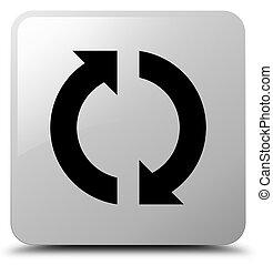 Update icon white square button