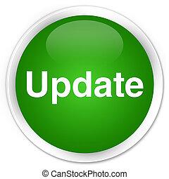 Update premium green round button