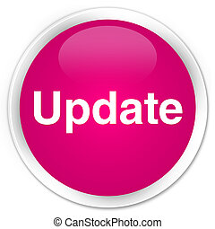 Update premium pink round button