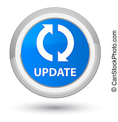 Update prime cyan blue round button
